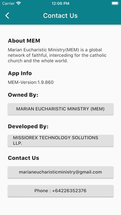 Marian Eucharistic Ministry screenshot-9