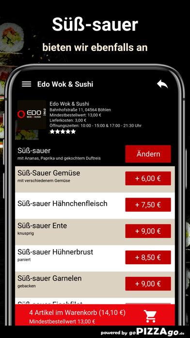 Edo Wok & Sushi Böhlen screenshot 6
