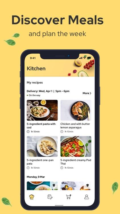 Kitchenful Recipes & Meal Plan screenshot-0
