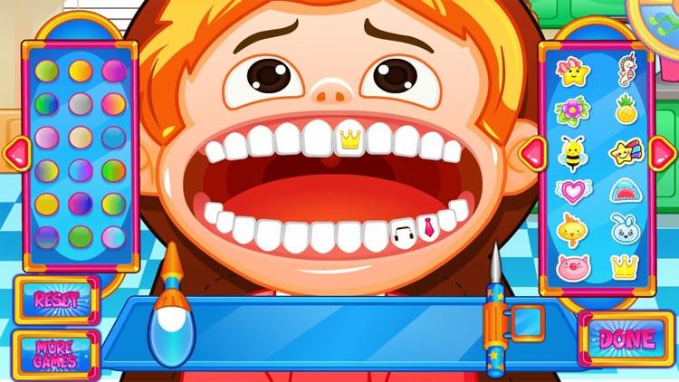 Fun Mouth Doctor, Dentist Game screenshot-8