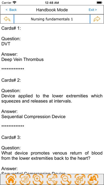 Nursing Review: Multi-topics screenshot-6