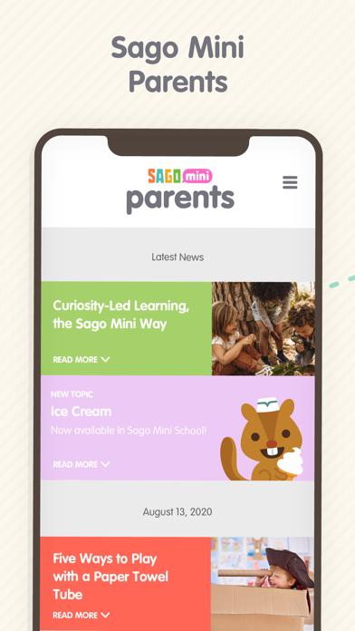 Sago Mini Parents Screenshot