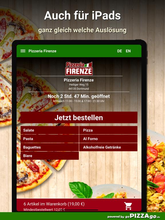 Pizzeria Firenze Dortmund screenshot 8