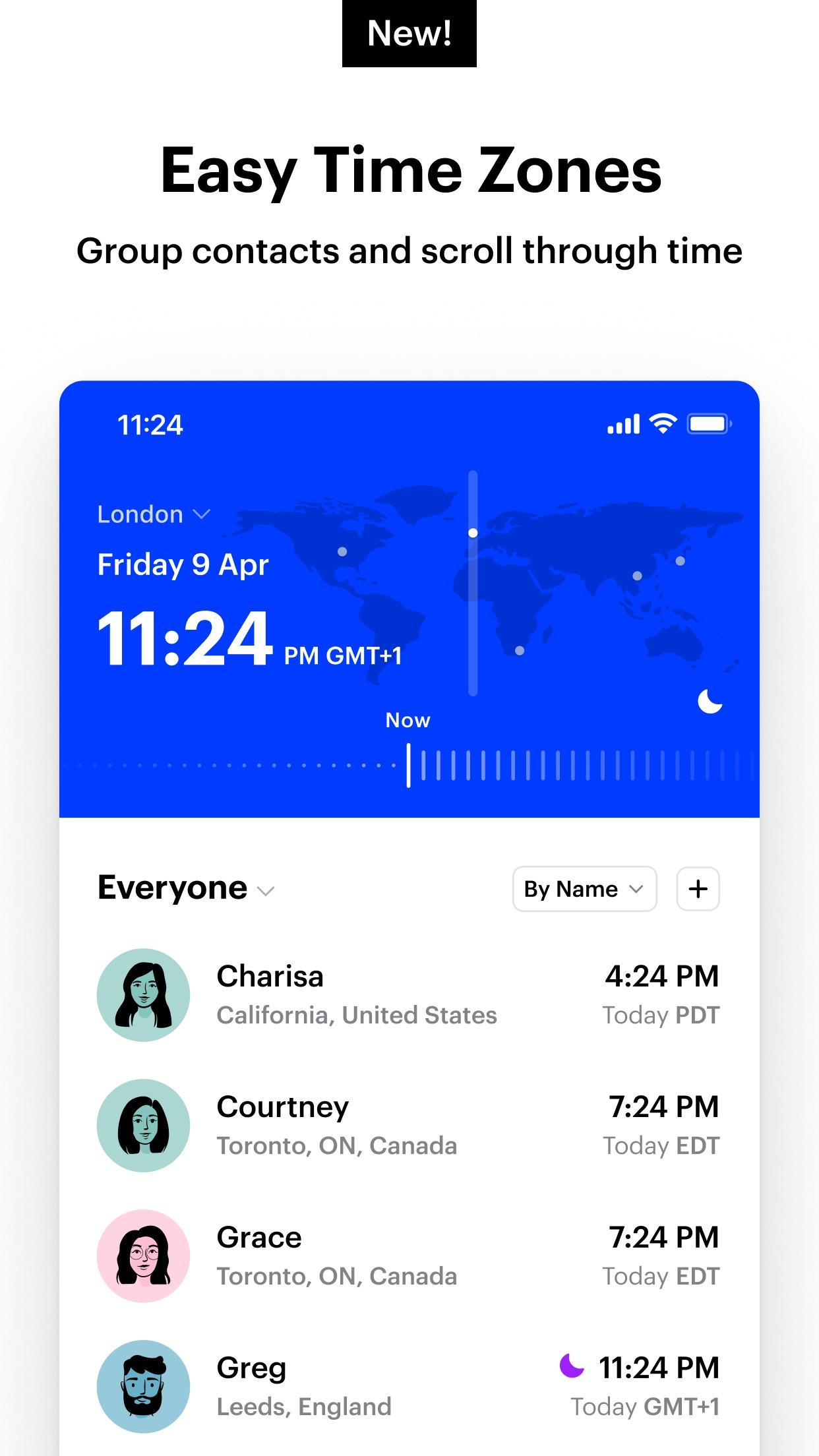 Screenshot do app Time Zone Pro