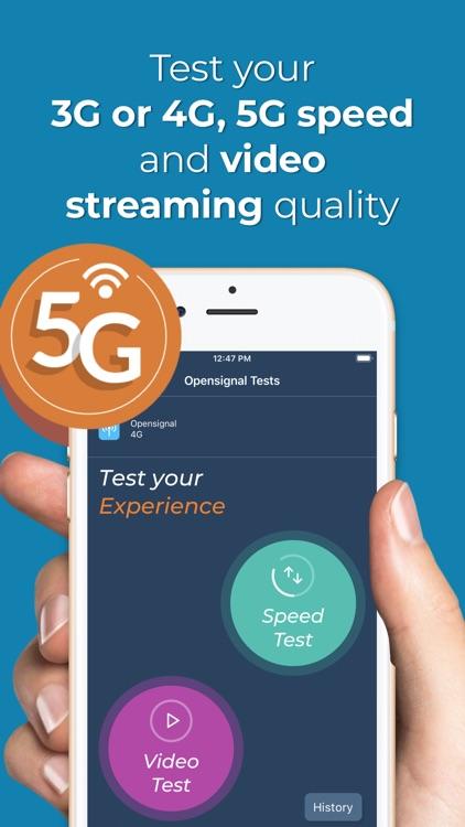 Opensignal Internet Speed Test
