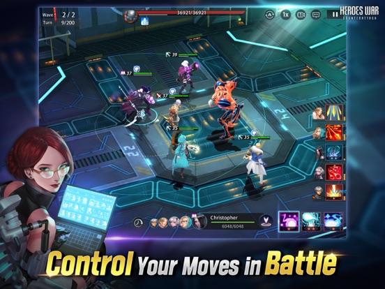 Heroes War: Counterattack screenshot 10