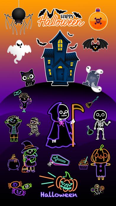 Macabre Halloween Stickers Screenshot