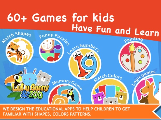 LuLu ZOO Kids Game screenshot 20