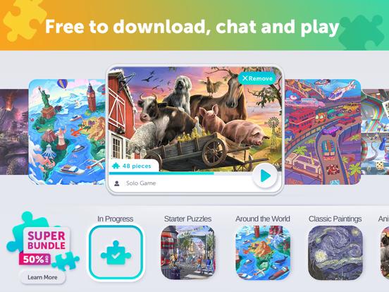 Jigsaw Video Party screenshot 16