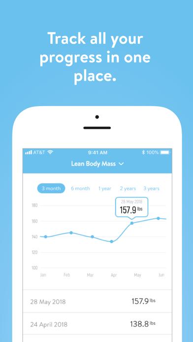 Screen Shot Peak Fitness App 3