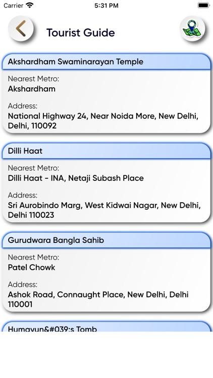 Delhi Metro Map Route and Bus screenshot-6