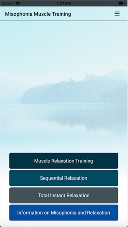 Misophonia Muscle Relaxation