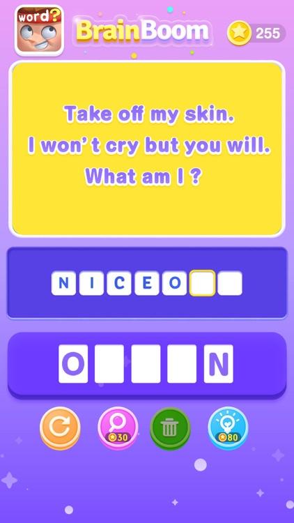 BrainBoom - Word Brain Games