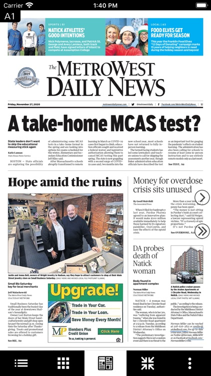 Metrowest Daily News eEdition