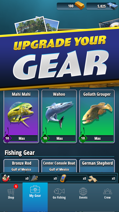 TAP SPORTS Fishing Game for windows pc