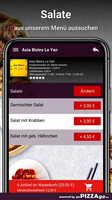 Asia Bistro Le Yen Iserlohn screenshot 5