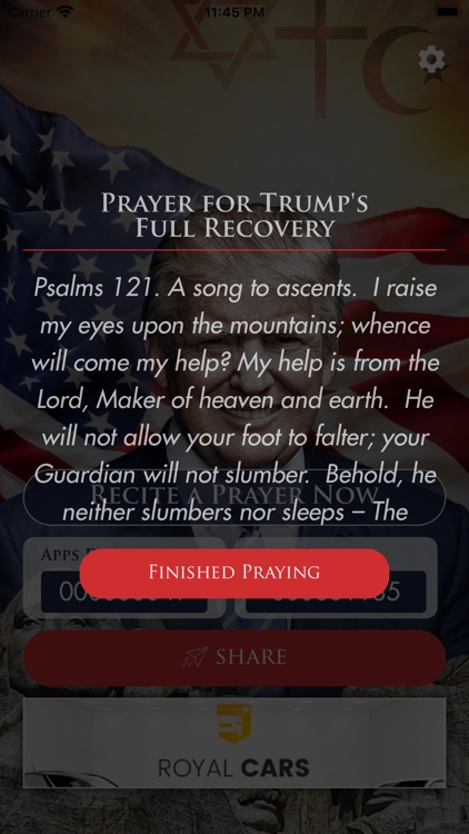 Prayer For Trump screenshot-5
