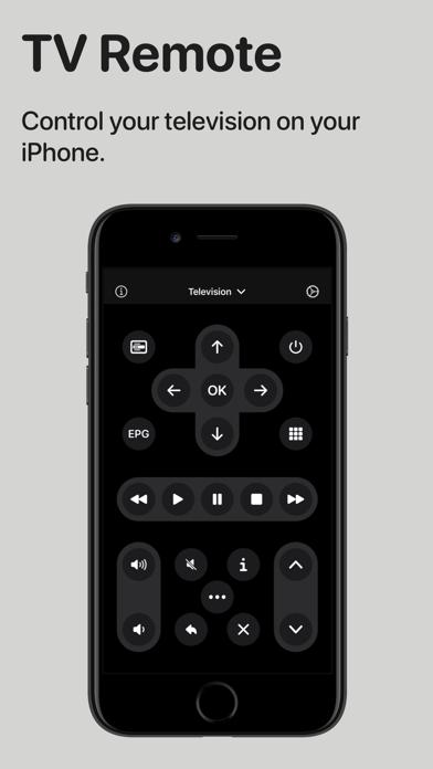TV Remote - Control Television Screenshot