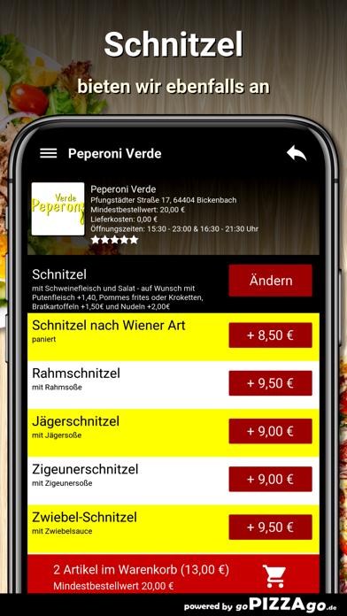 Peperoni Verde Bickenbach screenshot 6