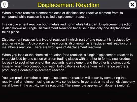 Displacement Reaction screenshot 8