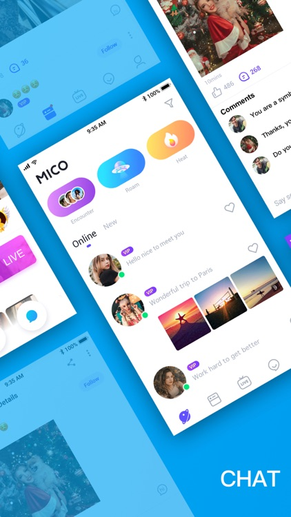 MICO: Make Friends, Live Chat