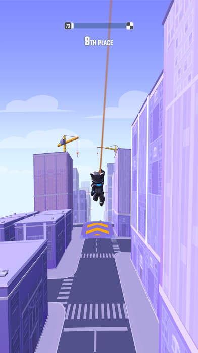 Swing Loops - Grapple Parkour screenshot 1