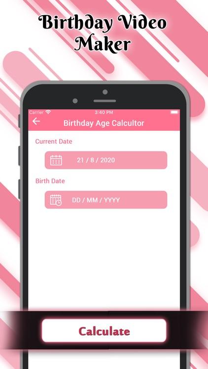 Birthday Video Maker Wid Song screenshot-8