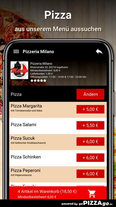 Pizzeria Milano Ingelheim screenshot 5