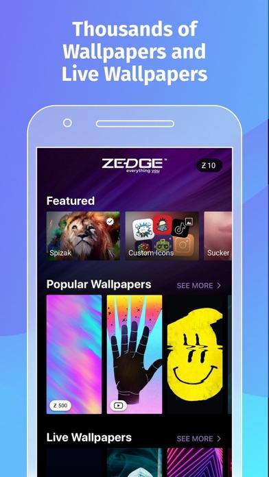 Herunterladen ZEDGE™ Wallpapers für Pc