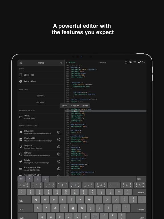 Buffer Editor - Code Editorのおすすめ画像2