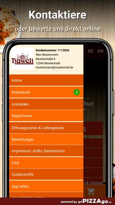 Haweli Hannover screenshot 3