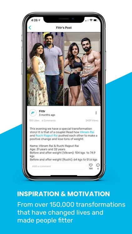 FITTR: Fitness & Weight Loss screenshot-3
