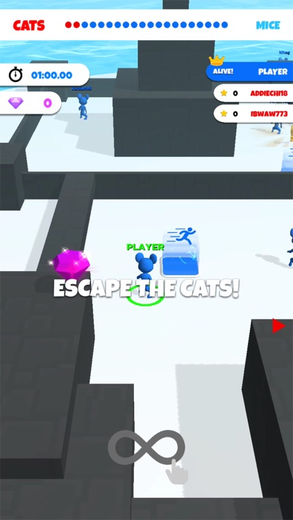 Cat and Mouse .io screenshot-0