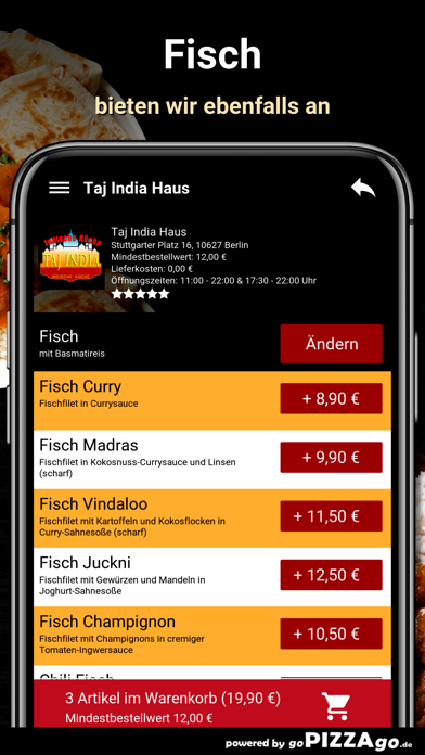 Taj India Haus Berlin screenshot 6