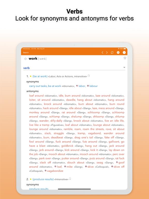English Thesaurusのおすすめ画像8