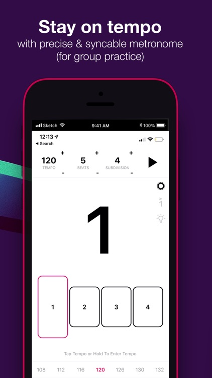 Tunable - Music Practice Tools screenshot-4