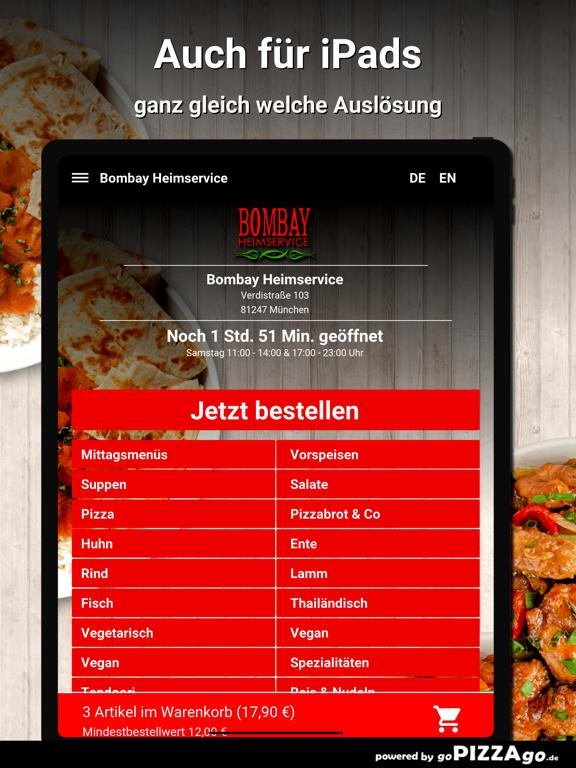 Bombay Heimservice München screenshot 7