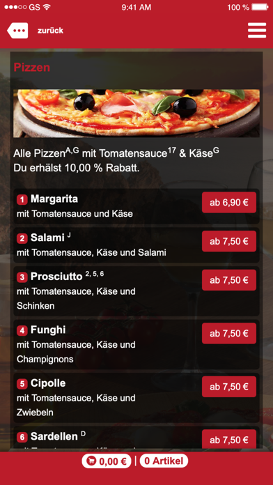 Antonios Pizza-Taxi screenshot 3