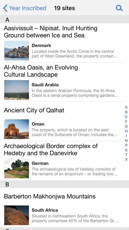 UNESCO World Heritage screenshot-4
