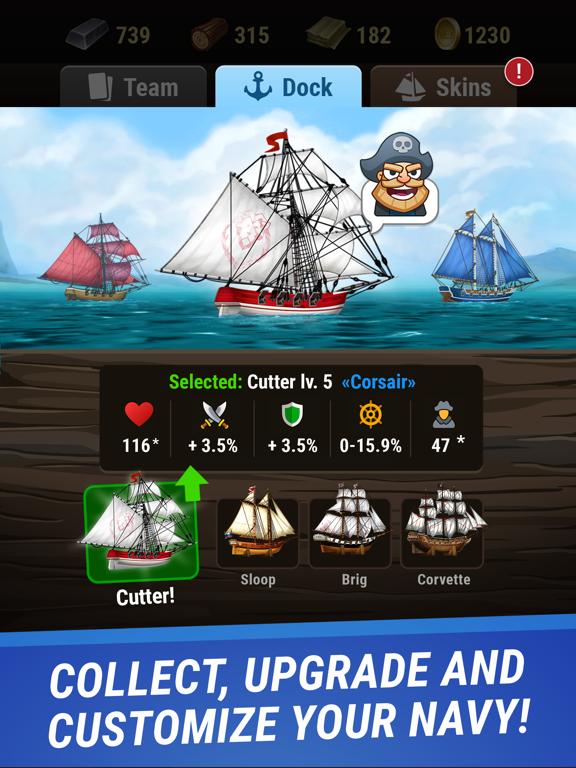 Pirates & Puzzles - PVP League screenshot 7