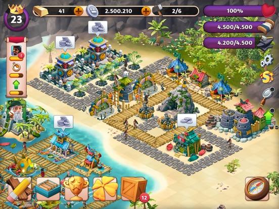 Fantasy Island: Sim Adventureのおすすめ画像1