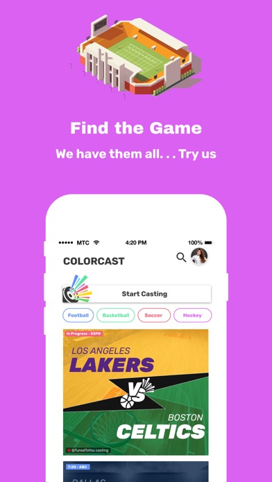 cancel Colorcast: Drop-In Sports Talk app subscription image 1