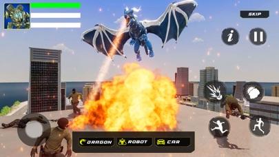 ドラゴン ロボット 変換紹介画像2