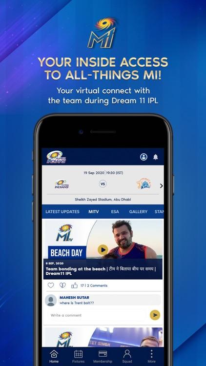 Mumbai Indians Official App screenshot-5