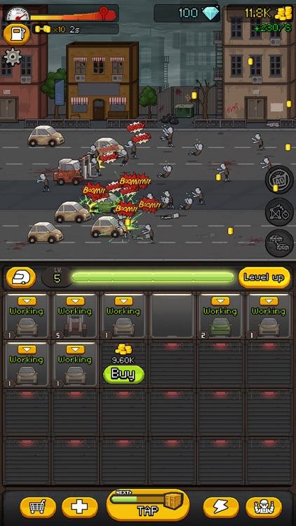 大战僵尸路 Zombie Road Idle screenshot-3