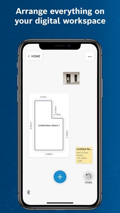 Screen Shot Bosch MeasureOn 3