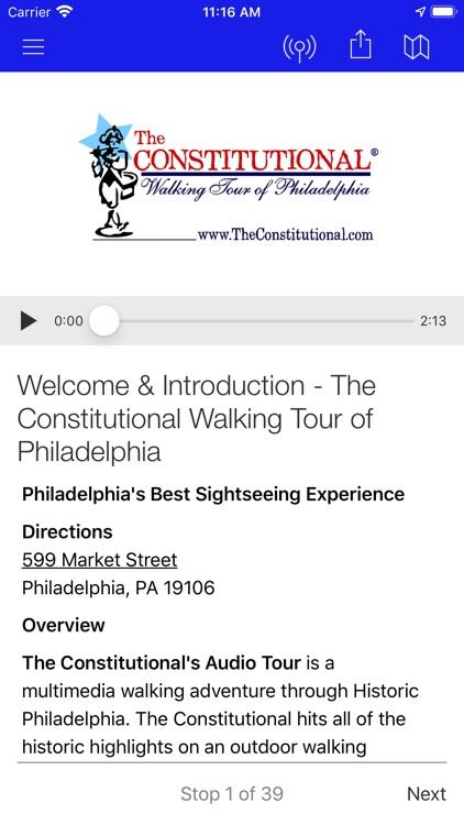 Walking Tour of Philadelphia screenshot-3