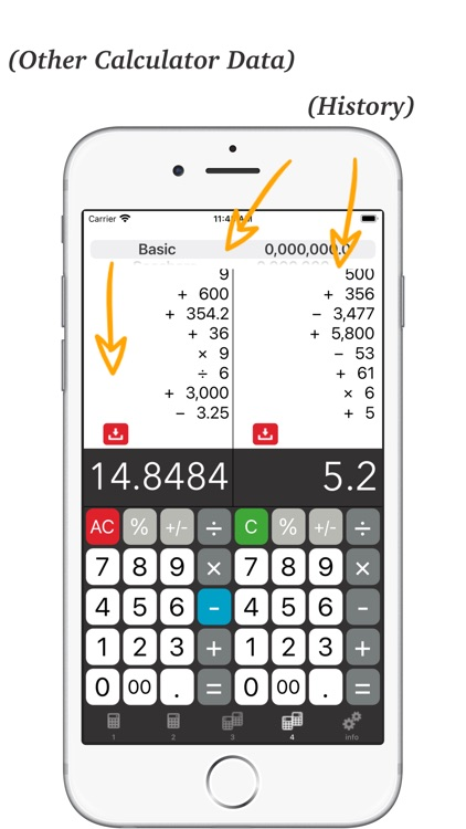 Calculator + - Twin Plus App # screenshot-5