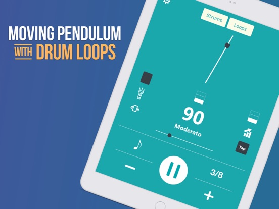 iPad Image of Metronome BEATS: Tap Tempo Bpm