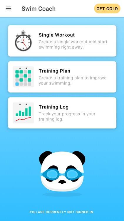 Swim Coach - Training App
